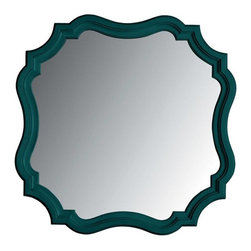 Stanley Furniture - Coastal Living Retreat-Piecrust Mirror - Delicious in a bedroom, this unique wall mirror is sweet.