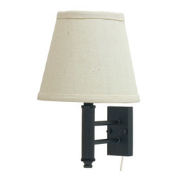 House of Troy - Greensboro Pin-up Wall Lamp - House of Troy GR902-OB - Oil Rubbed Bronze Finish. 12H x 8W x 9.5Deep. Takes one 75 watt Type A bulb (not included). Weight: 4 lbs. By House of Troy