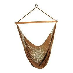 Phat Tommy - Hammock Chair in Tan - The Phat Tommy Hammock Chair brings style and relaxation to any deck, patio or tree in your yard.
