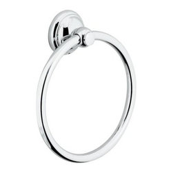 Hansgrohe - Hansgrohe 06095820 Brushed Nickel C Accessories C Accessories Towel - C Accessories Towel Ring Solid BrassSolid brass Also matches Retroaktiv Tango, Retroaktiv Swing, and Retroaktiv Limbo