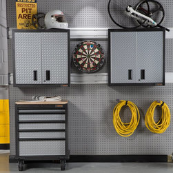 Tactix 20 In. Steel Tool Box Garage & Shed Products: Find Tool Boxes, Workbenches and Office ...