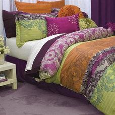 Contemporary Bedding by PileOfPillows.com