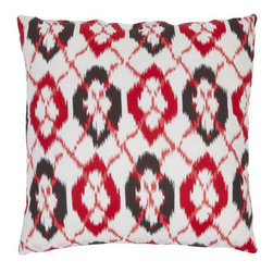 Safavieh Home Furniture - 22-Inch Whiteand Red Decorative Pillows -Set of Two - - This gorgeous 22-inch Deco Decorative Pillows (Set of 2) features a trendy black and ivory pattern printed on beautiful 100% cotton fabric. Seamed with intricate detail this pillow offers the versatility to fit into a wide range of decor styles from modern-contemporary to country or traditional and in settings that are either casual or formal.   - Red  - Some assembly required - Yes  - Please note this item has a 30-day manufacturer's limited warranty that covers product defects. Inspect your purchase upon delivery and notify us immediately with any concerns. Safavieh Home Furniture - PIL412A-2222-SET2
