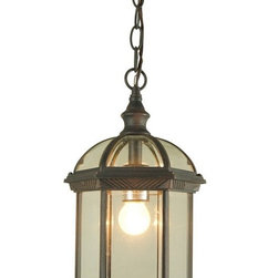Antique SP5271 Metal And Glass Pendant Lighting -