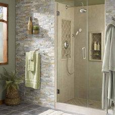 Rustic Showers by Vintage Tub & Bath