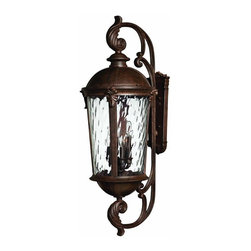 Hinkley - Hinkley Windsor Six Light River Rock Wall Lantern - 1929RK - This Six Light Wall Lantern is part of the Windsor Collection and has a River Rock Finish. It is Outdoor Capable, and Wet Rated.