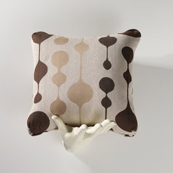 Homeware - Homeware Brown Accent Pillows - Set of 2 - HWP011-18-115BRO - Shop for Pillows from Hayneedle.com! Droplets of viscous ink hang in suspense on Homeware Brown Accent Pillows - Set of 2. The organic forms make a tidy accent in brown taupe and ivory. Ideal for a contemporary living space that needs a large-scale pattern this pair is rendered in a high-end weave.Not available for sale in or delivery to the state of California.About HomewareHomeware is driven by an innovative spirit and a passion to change the way America buys and lives with furniture. Homeware wants to save you from shopping in a big box bringing home a smaller box and ultimately being psychologically harmed by your encounter with a slew of parts and incomprehensible assembly instructions. Instead of that Homeware supports your choice to shop in your jammies and Homeware is determined to support your success. Homeware chairs are made to live and move with you. They come to you in two pieces within two special boxes and regardless how rudimentary your handyman skills may be YOU can assemble them without tools. Within minutes they assure you you will be enjoying a chair that's as sturdy and solid as any you've beheld. The secret? It's designer and engineer Jon Koch's ingenious and revolutionary fastening device which makes possible speedy chair assembly by the mechanically uninitiated. Homeware keeps a stable of furniture savants on call 24-7 to answer your questions including but not limited to questions about their chairs and pillows and they stand behind their products with bravado.