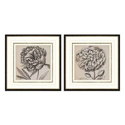 Paragon Art - Paragon Graphic Floral I ,Set of 2 - Artwork - Graphic Floral I ,Set of 2     ,  Paragon Giclee               Shadow Box , Paragon has some of the finest designers in the home accessory industry. From industry veterans with an intimate knowledge of design, to new talent with an eye for the cutting edge, Paragon is poised to elevate wall decor to a new level of style.