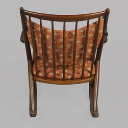 Wooden Rocking Chair by Frank Reenskaug - Vintage 1960s Danish Rocking Chair by Frank Reenskaug.