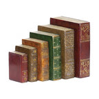 Joshua Marshal - Set/6 Tooled Books - Set/6 Tooled Books