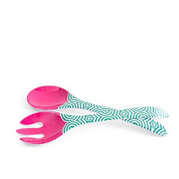 Jonathan Adler Sorrento Salad Servers - Jonathan Adler is challenging the traditional tabletop once again! What bowl are you game to pair with these Sorrento salad servers?