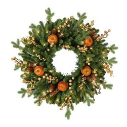 Balsam Hill Regency Gate Decorated Wreath - THE DAZZLING BEAUTY OF BALSAM HILL'S REGENCY GATE DECORATED WREATH |