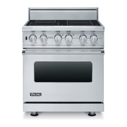 """Viking 30"""" Pro-style Induction Range, Stainless Steel 
