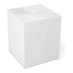Gus Modern - Gus Modern Stump Storage Box - Going just slightly against the grain, this storage box uses a faux-bois pattern to add artistic and textural interest. And beyond the surface appearances, this unit is the perfect place for you to hide blankets, magazines, and toys for young and old.