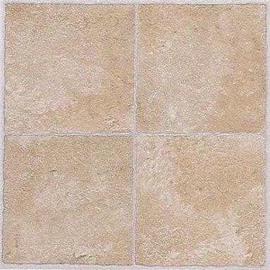 "NATIONAL BRAND ALTERNATIVE - Floor Tile No Wax Self Stick 12"" x 12"" Beige - Features:"