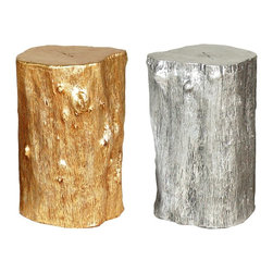 Log Stool - These log stools by Jason Philips are the coolest alternative to the classic garden stool, and for a very reasonable price.