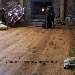 Character Oak Plank Floor - Colonial Hardwood Flooring