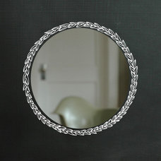 Eclectic Mirrors by Shanna Murray Illustrated Decals