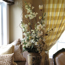 Traditional Curtains by The Taylor'd Room Interiors