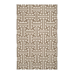 """Surya - Transitional Archive Hallway Runner 2'6""""x8' Runner Golden Brown-Ivory Area Rug - The Archive area rug Collection offers an affordable assortment of Transitional stylings. Archive features a blend of natural Brown-Ivory color. Handmade of 100% Wool the Archive Collection is an intriguing compliment to any decor."""