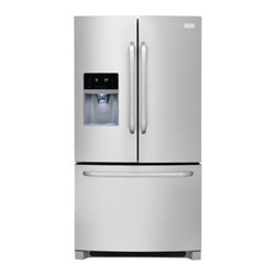 Frigidaire - FFHB2740PS 26.7 Cu. Ft. French Door Refrigerator With Adjustable Interior Storag - 267 cu ft capacity and over 100 ways to organize and customize your refrigerator this refrigerator can store anything you wantA large capacity Cool Zone drawer extends completely and provides space to easily store anything from sheet cakes and large ...