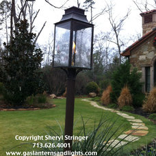 Contemporary Outdoor Lighting by Sheryl Stringer