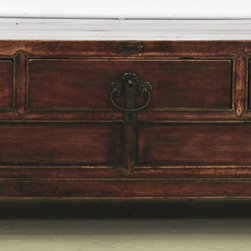 Three-Drawer Low Cabinet with Original Hardware - Three-Drawer Low Cabinet with Original Hardware
