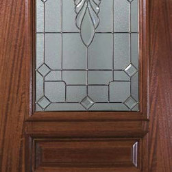 "Slab Entry Single Door 96 Mahogany Versailles 3 Panel Arch Lite Glass - SKU#    P19602Brand    GlassCraftDoor Type    ExteriorManufacturer Collection    Arch Lite Entry DoorsDoor Model    VersaillesDoor Material    WoodWoodgrain    MahoganyVeneer    Price    1815Door Size Options    36"" x 96"" (3'-0"" x 8'-0"")  $0Core Type    Door Style    Square TopDoor Lite Style    Arch LiteDoor Panel Style    3 PanelHome Style Matching    Door Construction    PortobelloPrehanging Options    SlabPrehung Configuration    Single DoorDoor Thickness (Inches)    1.75Glass Thickness (Inches)    Glass Type    Triple GlazedGlass Caming    Satin NickelGlass Features    Tempered , BeveledGlass Style    Glass Texture    Glass Obscurity    Door Features    Door Approvals    Wind-load Rated , FSC , TCEQ , AMD , NFRC-IG , IRC , NFRC-Safety GlassDoor Finishes    Door Accessories    Weight (lbs)    295.2Crating Size    25"" (w)x 108"" (l)x 52"" (h)Lead Time    Slab Doors: 7 daysPrehung:14 daysPrefinished, PreHung:21 daysWarranty    One (1) year limited warranty for all unfinished wood doorsOne (1) year limited warranty for all factory?finished wood doors"