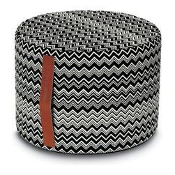 Missoni Home - Missoni Home | Tobago Cylinder Pouf - Design by Rosita Missoni.