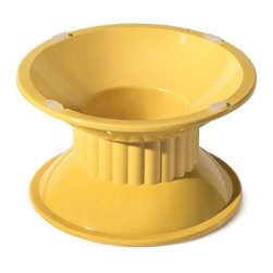 Get Melamine - Venetian 4 inch Tall Pedestal Top Dia. 6.9 inch Bottom Dia. 6.3 inch 3 Ct - Descriptions: