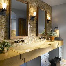 Transitional Bathroom by Beasley & Henley Interior Design
