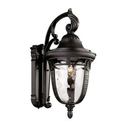 Trans Globe Lighting - Trans Globe Lighting 40221 ROB Outdoor Wall Light In Rubbed Oil Bronze - Part Number: 40221 ROB