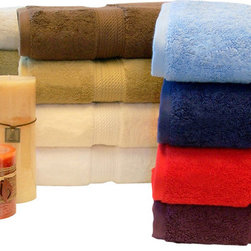 Bed Linens - Egyptian Cotton 900GSM 3pc Towel Set Rust - Towel Set Includes: