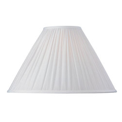 "Dolan Designs - Linen Empire Random Pleat Soft Back Shade 6"" - This stylish full-sized lamp shade is designed to be matched with full-sized mix-and-match lamp bases by Dolan Designs. Dolan Designs proudly presents the latest in lighting excellence. Each lamp shade in our mix and match program is a statement of style and beauty without sacrificing affordability. By combining this lamp shade with our coordinating lamp bases you can create your own unique look from dozens of possible combinations. We invite you to experience mix and match lighting from Dolan Designs for yourself."