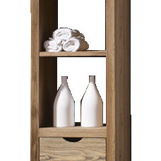 contemporary bathroom storage by Macral Design Corp.
