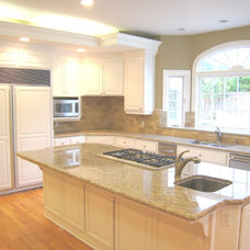 Traditional Kitchen by Artistic Stone Kitchen & Bath Inc