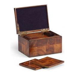 Jonathan Charles - New Jonathan Charles Box Mahogany With - Product Details