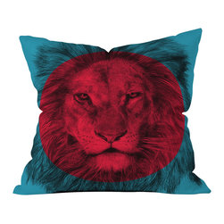 DENY Designs - Garima Dhawan Wild 5 Throw Pillow - Wanna transform a serious room into a fun, inviting space? Looking to complete a room full of solids with a unique print? Need to add a pop of color to your dull, lackluster space? Accomplish all of the above with one simple, yet powerful home accessory we like to call the DENY throw pillow collection! Custom printed in the USA for every order.