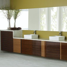 Asian Bathroom by MasterBrand Cabinets, Inc.