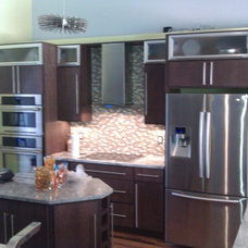 Modern Kitchen Cabinetry by Gentry's Product Services LLC