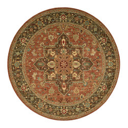 Nourison - NOUR-67415 Nourison Living Treasures Area Rug Collection - Bring a rare element of history, luxury and artistic sensibility into your home with this fine collection. Traditional classical Persian designs that were created centuries ago are featured in a dynamic interplay of patterns, colors, tones and textures. Turn any room into a sophisticated living area with these exquisitely crafted rugs.