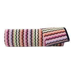 Missoni Home   Quick Ship: Omar Pink Bath and Hand Towel 5 Piece Set -