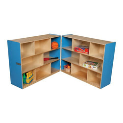 Wood Designs - Wood Designs 36H in. Folding Storage - WD13700B - Shop for Childrens Toy Boxes and Storage from Hayneedle.com! About WDM Inc.For 30 years Wood Designs has put passion for the enrichment and safety of children into quality wooden early learning furniture. Dennis and Debbie Gosney the couple behind this labor of love have taken their 50 years combined experience in child development furniture manufacturing and built a company at the forefront of innovation and safety. Intuitive design coupled with novel safety features like Pinch-me-not hinges and Tip resistant furniture set Wood Designs apart from the typical early learning furniture manufacturers.