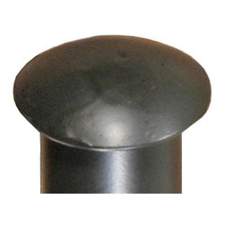 Stone County Ironworks - Curtain Rod End Cap (Rust) - Finish: Rust. Made from iron. Weight: 1 lb.