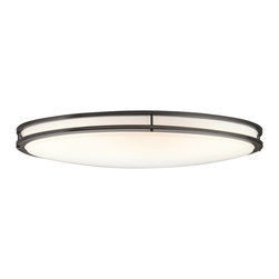 Kichler Lighting - Kichler Lighting 10879OZ Verve Olde Bronze Flush Mount - Kichler Lighting 10879OZ Verve Olde Bronze Flush Mount