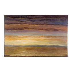 Uttermost - Uttermost Spacious Skies Hand Painted Wall Art 32201 - This serene hand painted oil on canvas is stretched and attached to wood stretching bars. Due to the handcrafted nature of this artwork, each piece may have subtle differences.