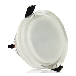 TorchStar - AC 85V-265V 7W 3.5-inch Acrylics LED Ceiling Light -  Lamp Round Shape, Warm Whi - Overview