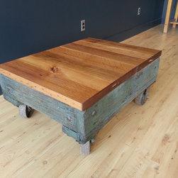 Blue Cart Coffee Table - Dan Chase