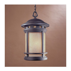 "Designers Fountain - Designers Fountain 2394-AM-ORB 3 Light 11"" Cast Aluminum Hanging Lantern from th - Features:"
