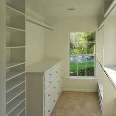 Traditional Closet by Thomas Development and Construction